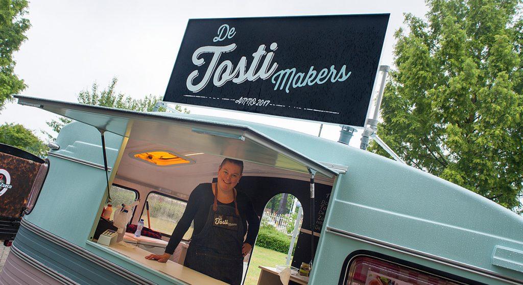 foodtruck caravan de tostimakers tosti truck